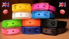 Silicone Belt Adjustable size Unisex Men Women Scented Plastic Buckle UK Seller