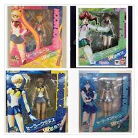 Anime Sailor Moon Kino Makoto PVC Action Figure Movable Toy 14cm In Box
