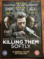 Killing Them Softly DVD 2011 Crime Thriller Film Movie with Brad Pitt