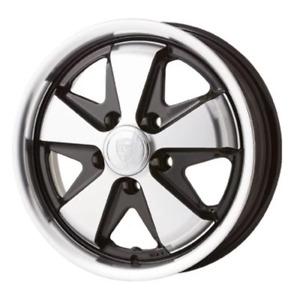 "Porsche fuch style alloy wheel. 15"" 6.0"" 5x130, 35mm off set."