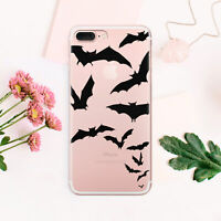 iPhone XS XR Halloween Case iPhone XS Max X Clear Cover iPhone 7 8 Plus 6 6s 5s