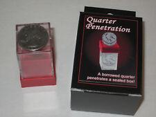Quarter Penetration Magic Trick - Close-Up, Pocket, Coin Walk Around, Street