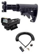 NcStar Paintball Red Dot Sight DP Car Stock Remote Tippmann A5 A-5 Sniper Kit