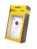 OEM OTTERBOX DEFENDER RUGGED CASE & HOLSTER/CLIP FOR APPLE iPHONE 3GS 3G-S WHITE