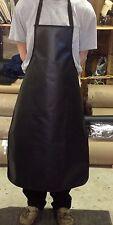 Black vinyl apron 27 x 42