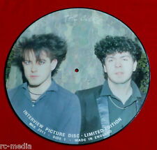 "THE CURE - Interview - Rare UK 12"" Picture Disc"