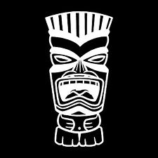 Tiki Vinyl Car Window Decal Bumper Sticker