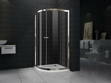 New Curved Sliding Doors  shower screen with base 8mm Glass 900X900X1950