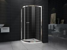 New Curved Sliding Doors  shower screen No base 8mm Glass 850X850X1900
