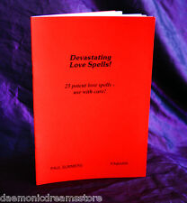 DEVASTATING LOVE SPELLS  Finbarr Occult. Magick Grimoire. Witchcraft. Magic