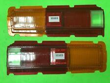 Datsun 510 SSS Bluebird Rear Tail light Lens Set # 3 NOS Small Defect 50% off