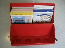 VINTAGE LEGO EDUCATION BOX CONTAINING DACTA TECHNIC INFORMATION CARDS