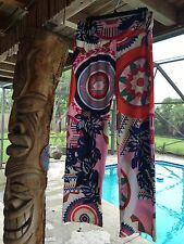 FESTIVAL Pants Size XL Size 10 SUMMER SURFER COOL BOHO CHIC Vacation NWOT