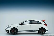 1:18 Mercedes-Benz A45 AMG White (L.E 1000pcs) by GT Spirit Dealer Edition