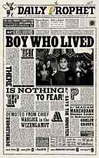 "Harry Potter - The Daily Prophet ( 11"" x 17"" ) Collector's Poster Print - B2G1F"