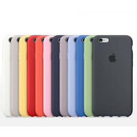 ORIGINAL Ultra-Thin Silicone Back Case Cover For Apple iPhone 6 6S / 6S Plus