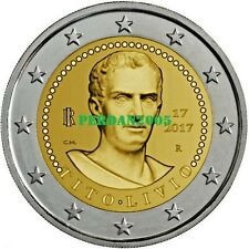 ITALIEN 2017 2 EURO 2000. TODESTAG VON TITUS LIVIUS TITO LIVIO ITALY ITALIE