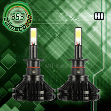 2x H1 6000K Super White 480W 48000LM COB LED Headlight High Low Beam Fog Bulb