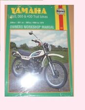 MAN263 Haynes Manual YAMAHA DT RT DT250 RT350 DT350 DT360 DT400 models 1968 - 79