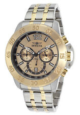 New Mens Invicta 17449 Specialty Analog Display Two Tone Bracelet Watch