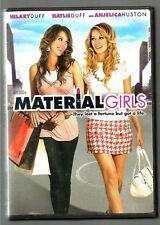 HILARY & HAYLIE DUFF ~ ANJELICA HUDSON  *Material Girls *( DVD, 2006, Dual Side)