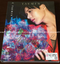 New SHINee TAEMIN Flame of Love First Limited Edition CD+DVD+Photo Card Japan