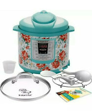 THE PIONEER WOMAN LUX60 VINTAGE FLORAL 6 QT PROGRAMMABLE INSTANT POT - BRAND NEW