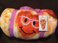 "JUSTICE EMOJI ""PIZZA IS ALWAYS A GOOD IDEA"" SLEEPING BAG/ SUPER CUTE!!!!"