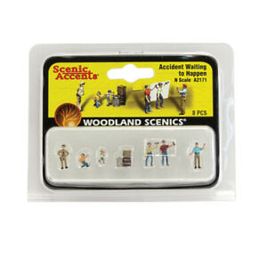 Woodland Scenics A2171 Accident Waiting to Happen - N scale