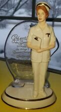 """2001 The Bradford Exchange First Issue """"Angel of Compassion"""" Porcelain NurseRare"""