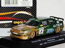 PEUGEOT 406 ESSO #9 ULTRON TEAM BTCC 1998 T. HARVEY ONYX XT089 1/43