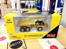 Norscot HO 1/87 Caterpillar Cat 730 Articulated Truck Diecast Model 55130