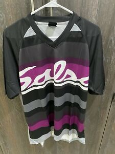 Salsa Canyonlands Jersey Purple Size:Large