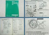 Mazda E2000 R2 Motor Werkstatthandbuch 1997