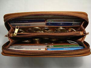 Ladies Purse Wallet Zip Around with Birds Pattern