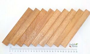 10 Sapele Mahogany Woodturning Pen Blanks 160 x 20 x 20mm. 10 Pack. Wood carving