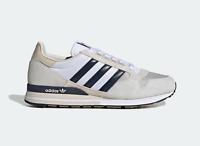 Adidas Originaux Hommes Zx 500 Baskets En Gris Et Encre