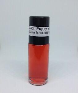 Body oil  Coach Poppy Type Women Perfume pure uncut body oil - Choose Sizes