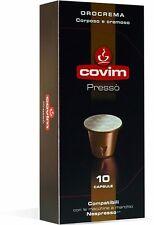 120 capsule caffè COVIM miscela OROCREMA compatibili Nespresso cialde