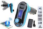 Handsfree LCD MP3 Player FM Transmitter Wireless Bluetooth Car Kit USB/SD