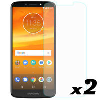 2-Pack Premium Tempered Glass Screen Protector For Motorola Moto E5 Plus/Supra