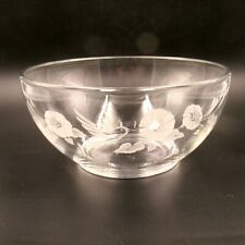 Avon 24% Full Lead Crystal Hummingbird Serving Bowl 8""