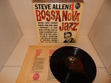 STEVE ALLEN Bossa Nova Jazz Super Clean! '63 DOT DLP 3480 mono LP