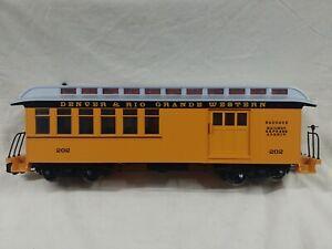 Bachmann Denver & RIO Grande Western Baggage Car Railway Express Agency 202