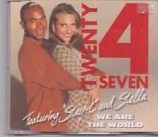 Twenty 4 Seven-We Are The World cd maxi single 7 tracks