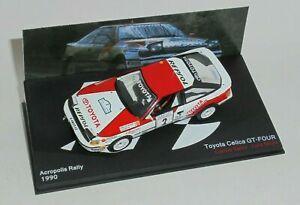 Altaya Pasion Rally Toyota Celica GT4 ST185 Carlos Sainz Acropolis 1990 IXO 1/43