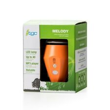 Melody solar powered LED lamp with MP3 player