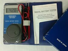 Tester for battery Seiko raro lcd digital introvabile nos anni '90 rare to find