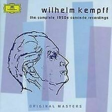 Kempff Wilhelm Complete 1950 Concert Recordings box set 5 cds Like New