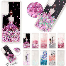 Patterned TPU Glitter Liquid Silicone Soft Case Cover For Huawei P30 P20 Pro